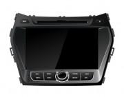 Штатная магнитола FlyAudio E66127NAVI для Hyundai Santa Fe New