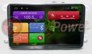 Штатная магнитола RedPower 21004B9 для Volkswagen Eos, Golf, Passat B6, B7, CC, Tiguan на базе OS Android 4.4.2