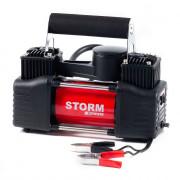 Компрессор Storm Bi-Power 20400 с зажимами АКБ (манометр)