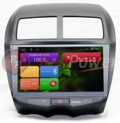 Штатная магнитола RedPower 21026B для Citroen C4 Aircross / Mitsubishi ASX / Peugeot 4008 на базе OS Android 6.0 (Marshmallow)
