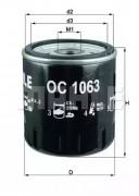 Оливний фільтр KNECHT OC1063