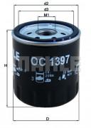 Масляный фильтр KNECHT OC1397