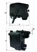 Топливный фильтр KNECHT KL431D