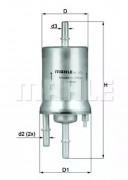 Топливный фильтр KNECHT KL572