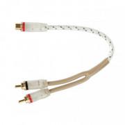 Межблочный кабель двойная изоляция Kicx FRCA02M (0,25м)