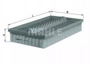 Воздушный фильтр KNECHT LX95