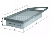 Воздушный фильтр KNECHT LX1282