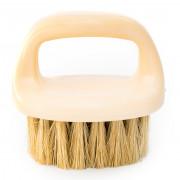 Щетка с натуральным ворсом для безопасной очистки кожи и алькантары Detailer Detailing Mini Interior Brush (DEIBMINI)