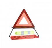 Знак аварийной остановки Vitol ЗА 007 + жилет безопасности ЖБ003 (набор ЗА 617)