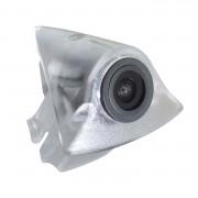 Камера переднего вида Prime-X B8006W для Volkswagen Tiguan 2010-2015 (в значок)