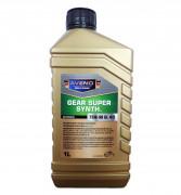Полусинтетическое трансмиссионное масло Aveno Gear Super Synth 75W-90 GL 4/5