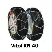 Цепи противоскольжения Vitol KN 40 для колес R13, R14, R15