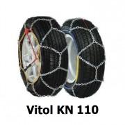 Цепи противоскольжения Vitol KN 110 для колес R15, R16, R17, R18