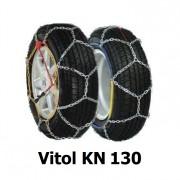 Цепи противоскольжения Vitol KN 130 для колес R15, R16, R17