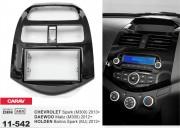 Переходная рамка Carav 11-542 Chevrolet Spark (M300) 2013+ / Holden Barina Spark (MJ) 2012+, 2 DIN