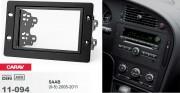 Переходная рамка Carav 11-094 Saab 9-5 2005-2011, 2 DIN
