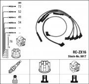 Комплект высоковольтных проводов зажигания RC-ZX16 NGK 9917
