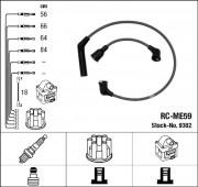 Комплект высоковольтных проводов зажигания RC-ME59 NGK 9302