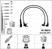 Комплект высоковольтных проводов зажигания RC-RN619 NGK 8470