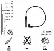 Комплект высоковольтных проводов зажигания RC-VW247 NGK 7013