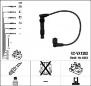 Комплект высоковольтных проводов зажигания RC-VX1202 NGK 6983