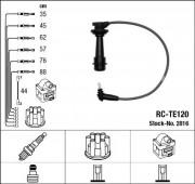 Комплект высоковольтных проводов зажигания RC-TE120 NGK 2816