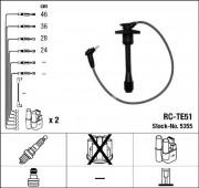 Комплект высоковольтных проводов зажигания RC-TE51 NGK 5355