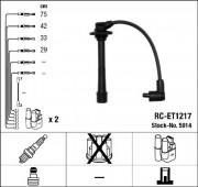 Комплект высоковольтных проводов зажигания RC-ET1217 NGK 5914