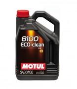Motul Моторное масло Motul 8100 Eco-clean 0W-30