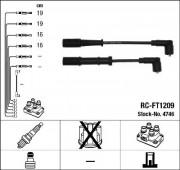 Комплект высоковольтных проводов зажигания RC-FT1209 NGK 4746