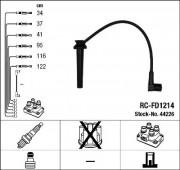 Комплект высоковольтных проводов зажигания RC-FD1214 NGK 44226