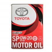 Toyota Оригинальное моторное масло Toyota Motor Oil SP 0W-20 (0888013205)