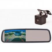 Система видеопарковки: Зеркало заднего вида со встроенным 4,3` монитором и камерой заднего вида Prime-X M-043S plus
