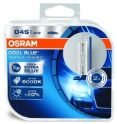 Комплект ксеноновых ламп Osram D4S Cool Blue Intense Xenarc OS 66440 CBI Duobox 35Вт (P32d-5) Germany