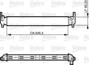 Радиатор охлаждения двигателя VALEO 735310
