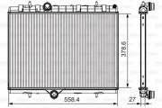 Радиатор охлаждения двигателя VALEO 735630