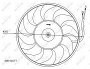 Вентилятор охлаждения радиатора NRF 47072