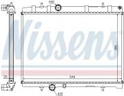 Радиатор охлаждения двигателя NISSENS 63605A