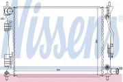 Радиатор охлаждения двигателя NISSENS 66757