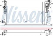 Радиатор охлаждения двигателя NISSENS 637647