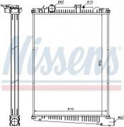 Радиатор охлаждения двигателя NISSENS 614410