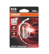 Лампа галогенная Osram Night Breaker Unlimited OS 64151 NBU-01B (H3)
