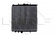 Радиатор охлаждения двигателя NRF 509523