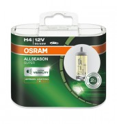 Комплект галогенных ламп Osram All Season Super 64193 ALS-HCB DUOBOX (H4)