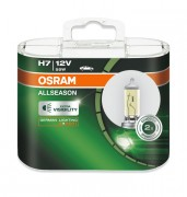 Комплект галогенных ламп Osram All Season OS 64210 ALL-HCB DUOBOX (H7)