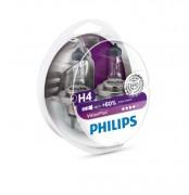 Комплект галогенних ламп Philips VisionPlus PS 12342 VP S2 (H4)