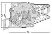 Вентилятор охлаждения радиатора DENSO DER09100