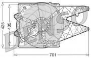 Вентилятор охлаждения радиатора DENSO DER09101