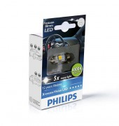Светодиодная лампа Philips X-tremeVision LED (C5W) PS 12858 2LED (4000K)