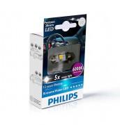 Светодиодная лампа Philips X-tremeVision LED (C5W) PS 12859 2LED (6000K)